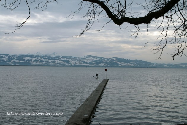 Lindau am Bodensee Stand up Paddler
