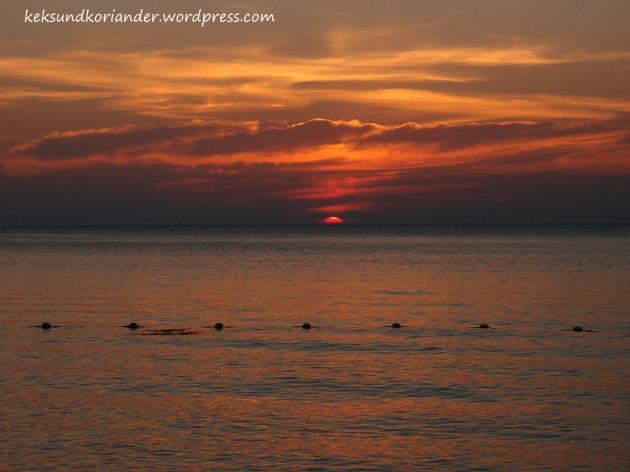 Koh Lanta Sonnenuntergang Strand Thailand