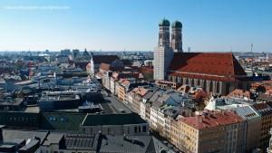 München Alter Peter Rathaus Innenstadt Marienplatz