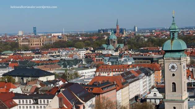 München Aussicht Alter Peter