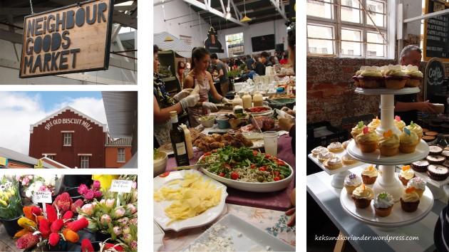 Neighbourgoodsmarket Kapstadt Südafrika old bisciut mill