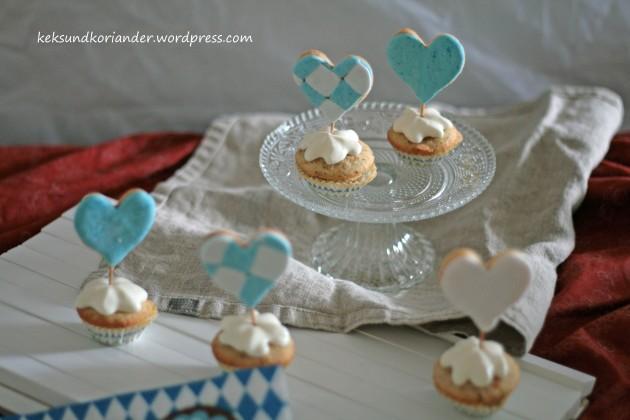 Cupcake Muffins Nussmuffin Topping Keks Wiesn