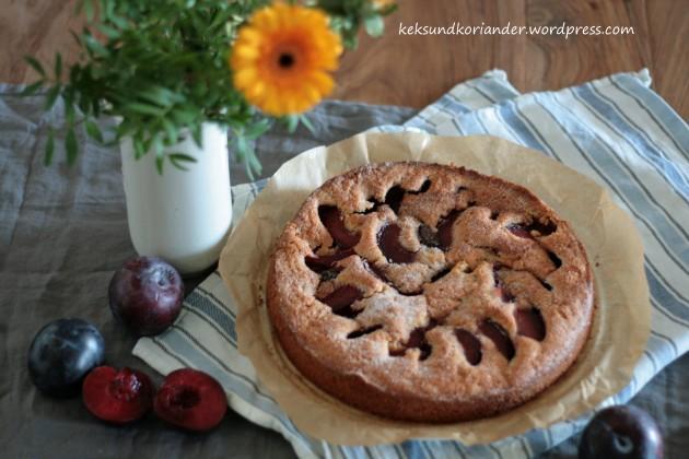 Pflaumenkuchen Zimt Herbst Rührteig 5
