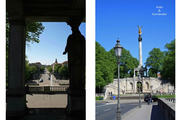 Friedensengel Maximilianstr München
