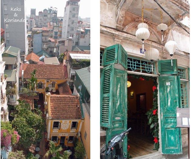 Hanoi Vietnam Eindrücke Türen Häuser