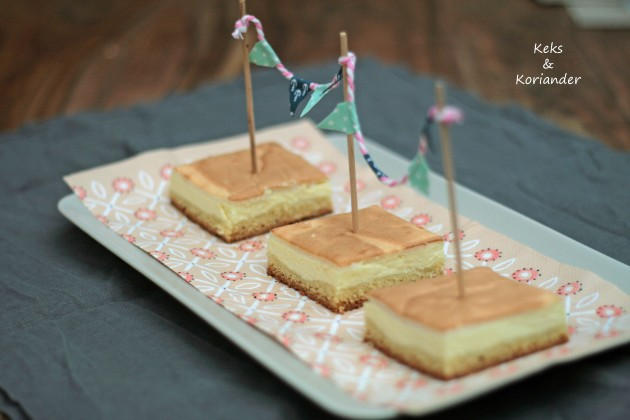 Käsekuchen mit Baiserhaube, Cheesecake
