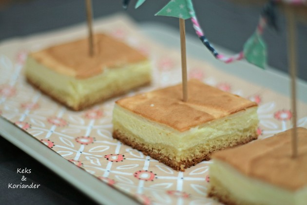 Käsekuchen mit Baiserhaube, Cheesecake2