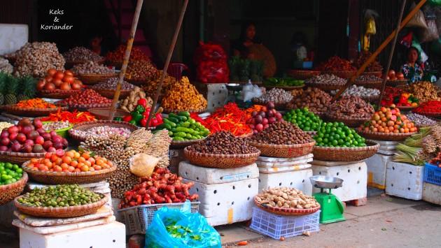 Vietnam Hanoi Altstadt Gewürze