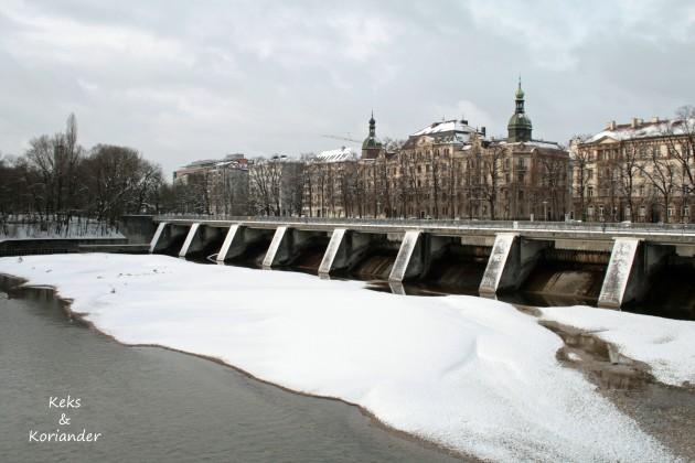 Winter München Isar