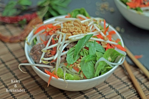 Bun Bo Nam Bo vietnamesischer Rindfleischsalat 3