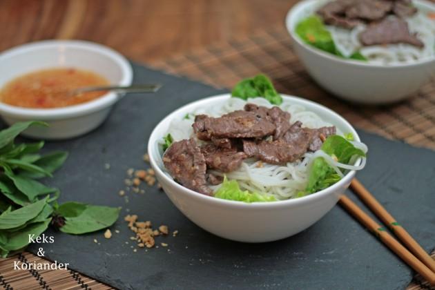 Bun Bo Nam Bo vietnamesischer Rindfleischsalat 4