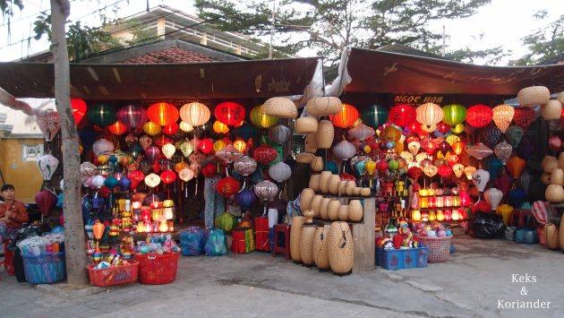 Hoi An Vietnam Altstadt Lampions