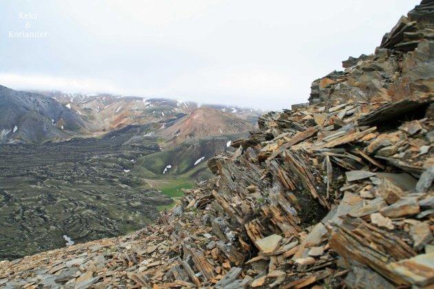 Landmannalaugar Berge Hochland Island Felsen