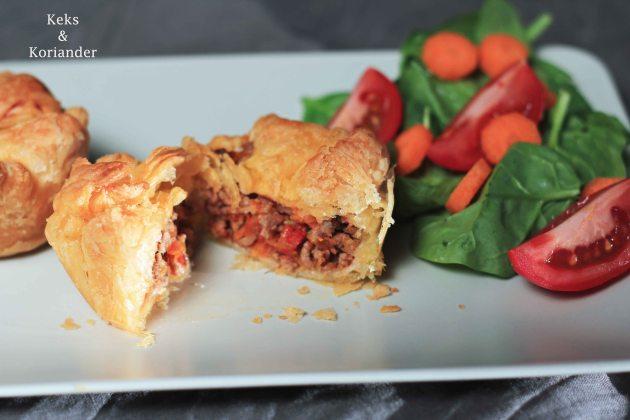 australischer Meat Pie mit Hackfleischfüllung schnell 3