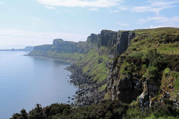 Schottland Küste Klippen
