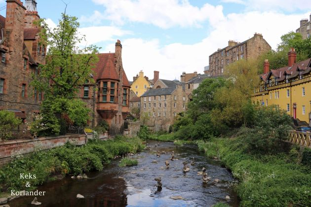 Edinburgh Schottland Dean Village