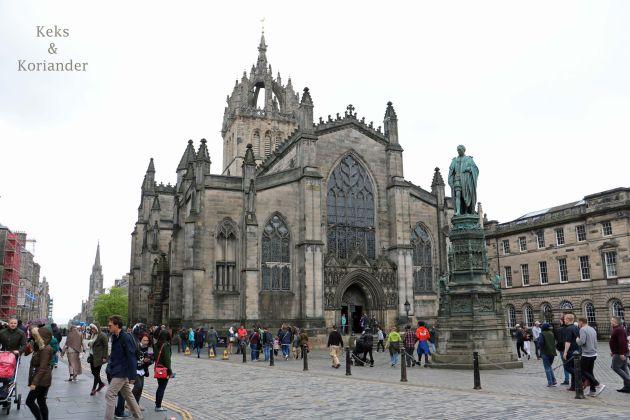 Edinburgh Schottland St. Giles Kathedrale Old Town