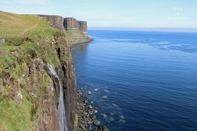 Kilt Rock Wasserfall Isle of Skye Schottland