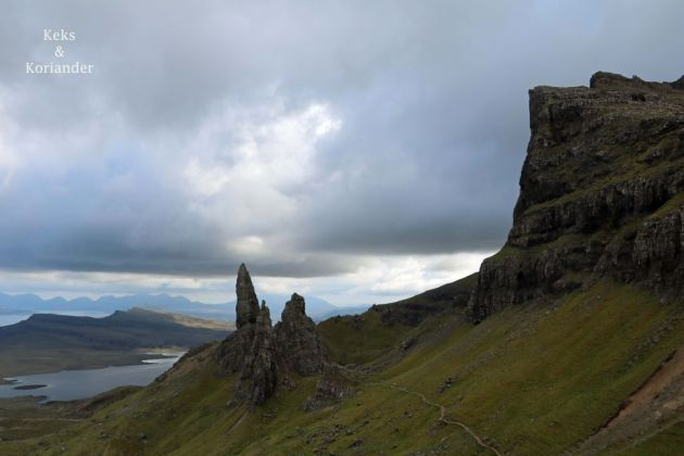 Old man of Storr Schottland Isle of Skye