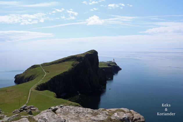 Schottland Isle of Skye Neist Point Lighthouse