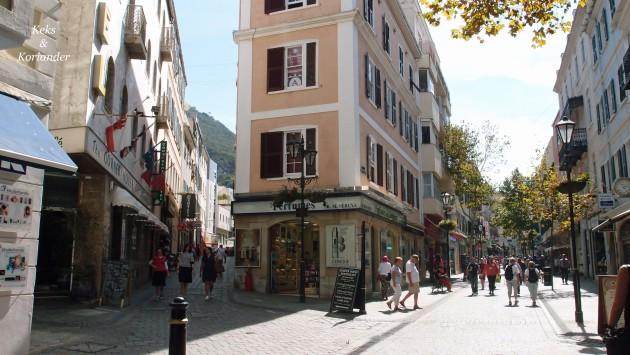 Gibraltars Innenstadt