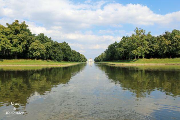 Nymphenburger Schlosspark München Sommer