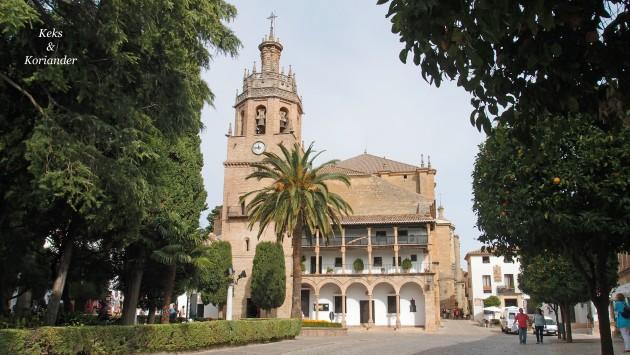 Parroquia Santa Maria la Mayor Ronda Andalusien Spanien