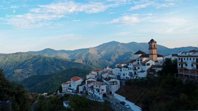 Weg nach Ronda Andalusien Spanien