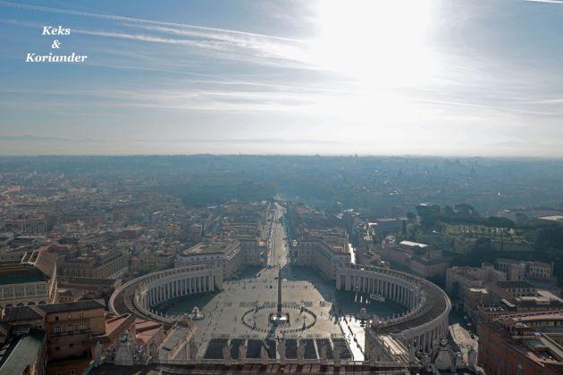 Rom Italien Blick Petersdom Kuppel