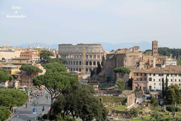Rom Italien Forum Romanum Colosseum
