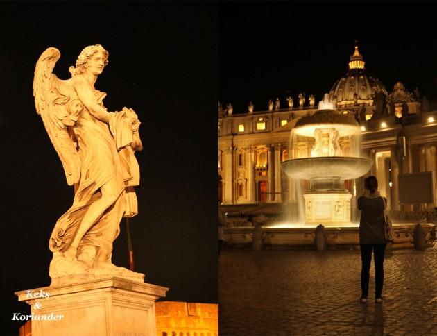 Rom Italien Petersdom Ponte Sant`Angelo