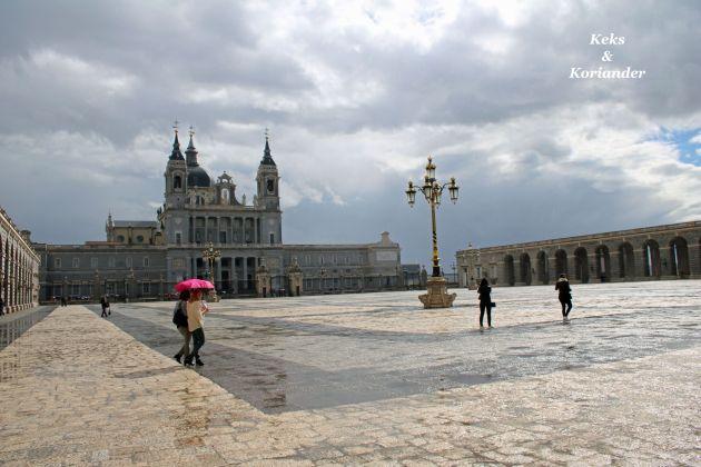 Königspalast Palacio Real Madrid Spanien