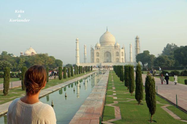Agra Indien Taj Mahal