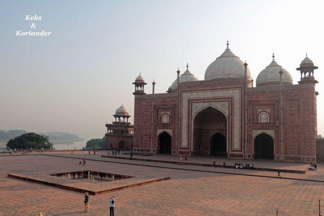 Taj Mahal Seitengebäude Agra Indien
