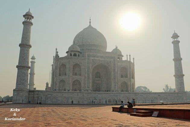 Taj Mahal seitlich Agra Indien